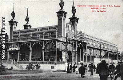 ROUBAIX/cartes-postales-photos-Le-Casino-ROUBAIX